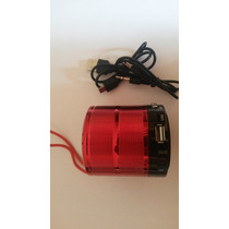 Mini Caixa De Som Portátil Usb Pequena Mp3 Mp4 Celular Ipod