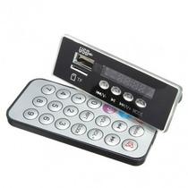 5v / 12v Bordo Decodificador Mp3 Áudio Digital Com Tf Rádio