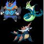 Pokémon Xy/oars Servepior, Samurott, Emboar Evento Shiny!