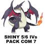 Pokemon X Y 3ds Pacote Com 7 Shiny 5/6iv Promoção!