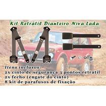Kit Dianteiro Ou Traseiro Cinto De Segurança Niva (4x4)