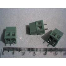 Borne Mini 2 Vias 1 Pçs - Componente Eletronico Pic Avr Rf
