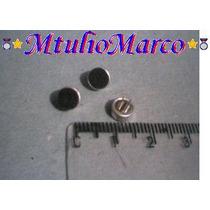 Microfone Eletreto 6x3 Mm - Componente Eletronico Pic Avr Rf