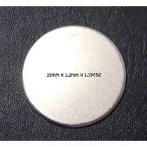 Piezo Ceramico Pastilha Disco Para Nebulizador 25mm 1,7mhz