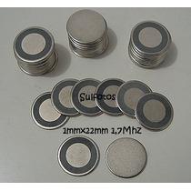 Piezo Ceramico Pastilha Disco Para Nebulizador 22mm 1,7mhz