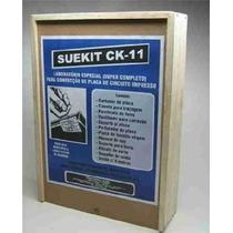 Kit Suetoku P/ Confecção Circuito Impresso Eletrônica Ck-11