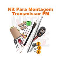 Kit Transmissor Fm Para Montagem