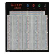 Protoboard 3220 Pontos Hk-p300 Hikari Com Base E Bornes