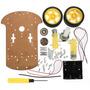 Chassis Transparente 2wd Com Encoder - Arduino