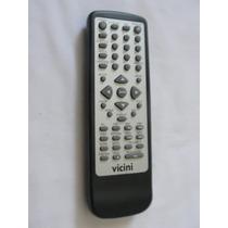 Controle Remoto Vicini Dvd Vc916 Original