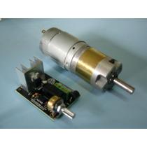 Microredutor Planetário Com Motor Dc C/ Controlador Pwm