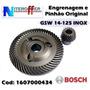 Engrenagem + Pinhão Original P/gws 14-125 Inox Bosch