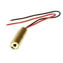 Módulo Laser Vermelho Formato De Ponto 2 À 5mw Ajuste Foco