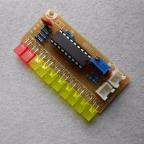 Kit Montagem Eletrônica Vu Led Bargraph Audio Level