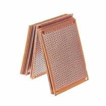 3 X Placa Circuito Impresso Fenolite Ilhada Perfurada 5x7cm