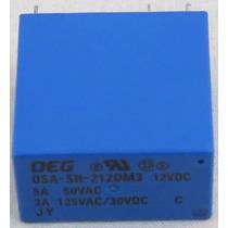 Rele Osa-sh-212dm3 12vdc / 5a 50vac / 3a 125vac/30vdc