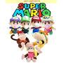 Baby Mario Luigi Peach Bowser Diddy Kong Pelúcia Nintendo