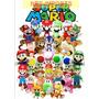 Mario Luigi Peach Bowser Diddy Kong Pelúcia Nintendo
