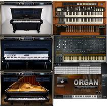 Pacote Vst Piano, Organ, Harmmond, Rhodes, Sintetizador