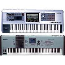 8 Gb De Samples Prontos Para Yamaha-motif Xf E Xs E Fantom G