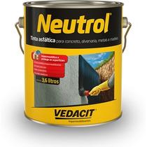 Neutrol - Tinta Asfáltica Gl 3,6l Vedacit