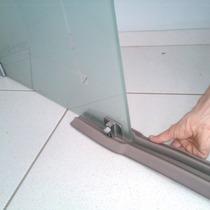 Protetor Porta Vidro Blindex Duplo Bloq Insetos Calor 100cm