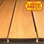 Promoção Deck Modular Madeira De Eucalipto 50cmx50cmx1,8cm
