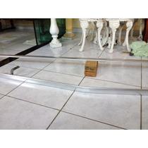 Corrimão De Alumínio Polido Maciço Tamanho 3,50 Metros