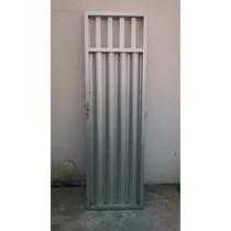 Porta De Aluminio - 2,13 X 0,65