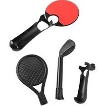 Kit Esportes 3 Em 1 P/ Ps Move - Preto - Integris Psmove Ps3