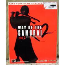 Revista Bradygames Com Detonado Way Of The Samurai 2 Do Ps2