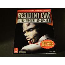 Resident Evil Directors Cut Strategy Guide Muito Raro!!!!