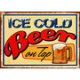 Placa Decorativa(18956)cerveja Bebida Ice Cold