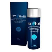 Jet Hair 25g Solução Imediata P/ Calvície Melhor Que Toppik