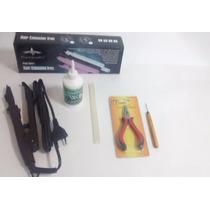 Kit Mega Hair - Pinça+queratina+removedor+alicate C/ Agulha