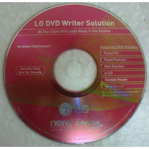 Lg Dvd Writer Solution - Nero Cyberlink