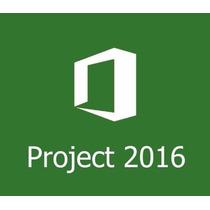Project Pro 2016 32/64 Bits - Ativa Online - Original