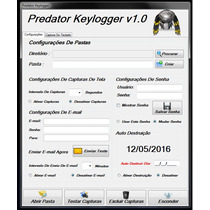 Programa Espião Monitoramento De Pc Keylogger