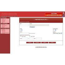 Script Php Site Sistema Online P/ Auto Escola Administrável