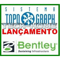 Bentley Topograph 8i Pt Br Completo