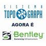 Bentley Topograph Novo - Com Georreferenciamento Completo