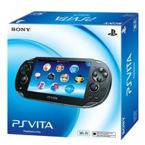 Sony Ps Vita Wifi Psp + Cartao Sony 4 Gb