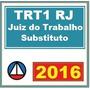 Trt1 Trt Rj (trt 1 Rio De Janeiro) - Juiz Do Trabalho Sub...