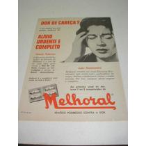 ( L - 290/ P ) Propaganda Antiga Melhoral