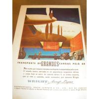 ( L - 290 ) Propaganda Antiga Motor Avião Lycoming