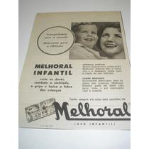 ( L-290 ) Propaganda Antiga Comprimidos Melhoral