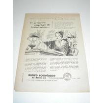 ( L - 290 ) Propaganda Antiga Banco Economico Da Bahia S.a