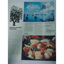 Propaganda Antiga Bacalhau Da Noruega + Lycra - Anos 70