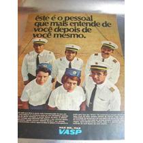 ( L - 290/ G ) Propaganda Antiga Empresa Aérea Vasp