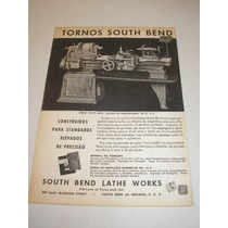 ( L - 290 ) Propaganda Antiga Torno South Bend